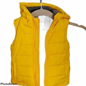 🔴Little puffer hooded vest jacket